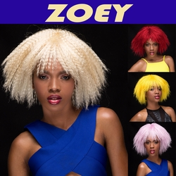 Zoey - Textured Above The Shoulders Wig