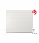 5' x 6' Horizontal Lined Dry Erase Board