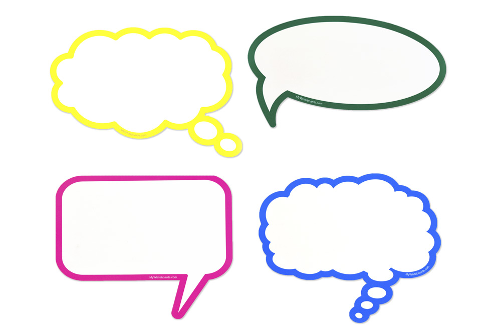 dry erase speech   thought bubbles cartoon thought bubble vector thought bubble vector art
