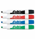 Expo #83074 Set of 4 Dry Erase Markers