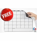 FREE Magnetic Refrigerator Calendar with Qualifying Purchase
