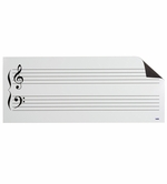 Grand Staff Dry Erase Music Staff Magnet
