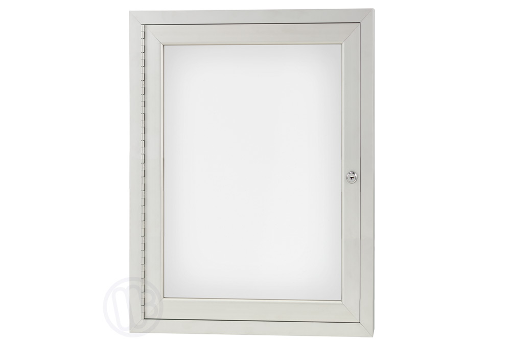 Enclosed Dry Erase Board Cabinets