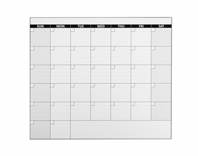 Large One Month Calendar Magnet