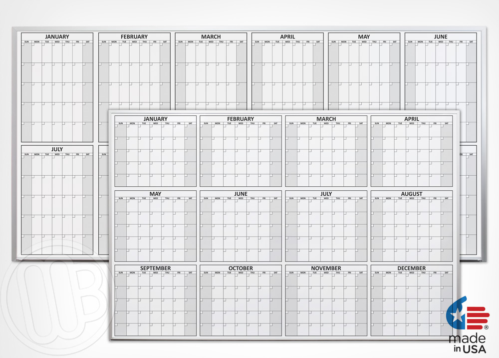 Dry Erase Calendar Template : Magnetic dry erase calendar new template site