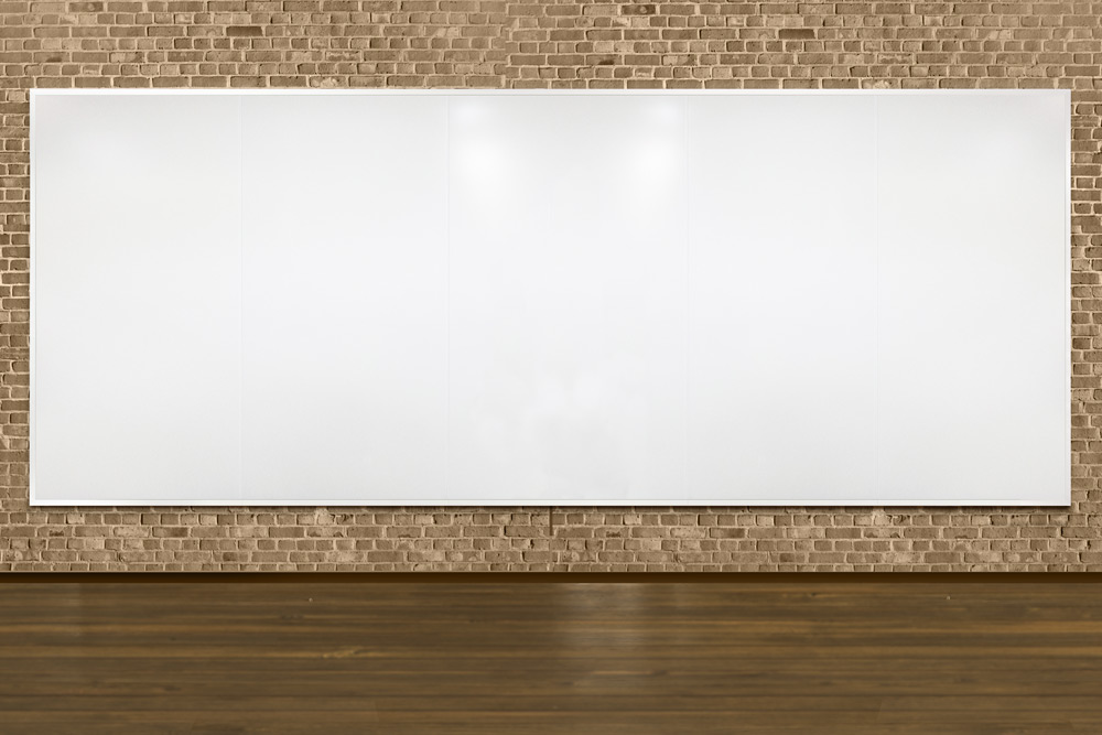 Full Height Magnetic Dry Erase Whiteboard Walls