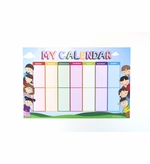 Magnetic Kids Calendar