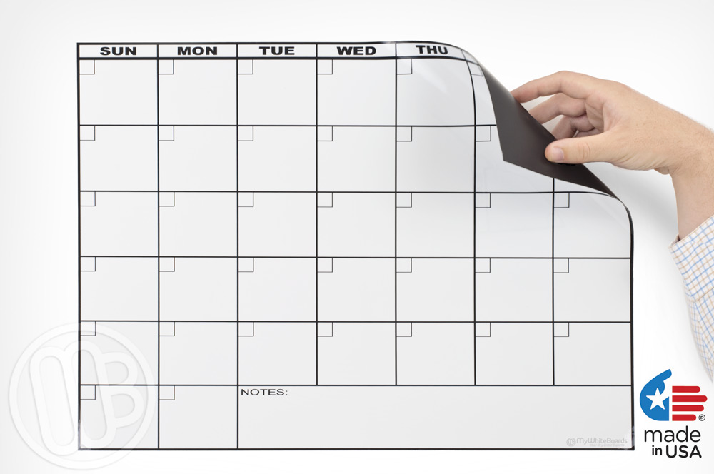 Year Calendar Dry Erase Board : Dry erase magnetic calendar search results