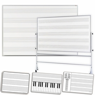Music Staff Dry Erase Whiteboards