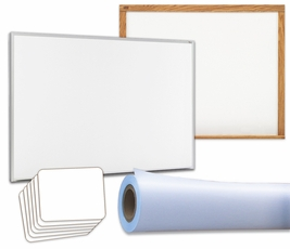 Non-Magnetic Value Whiteboards
