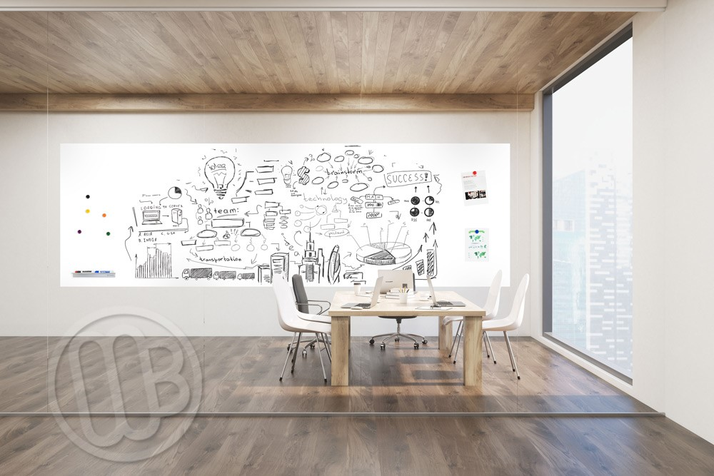Dry Erase Wallcovering Magnetic