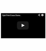 OptiPrint™ Video