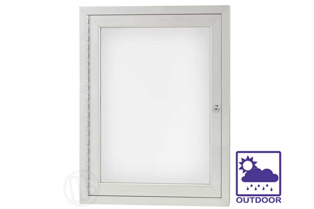 Outdoor Enclosed Dry Erase Board