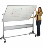 Platinum Non-Magnetic Dry Erase Boards