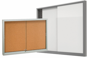 Sliding Glass Door Bulletin Boards