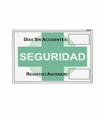 Spanish Safety Tracking Boards