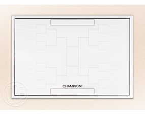 Tournament Bracket Dry Erase Magnet