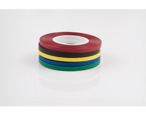 Vinyl chart tape for layout boards