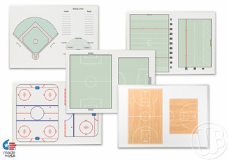 Wall Mounted Sport Whiteboards