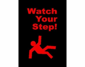 Watch Your Step Safety Mat