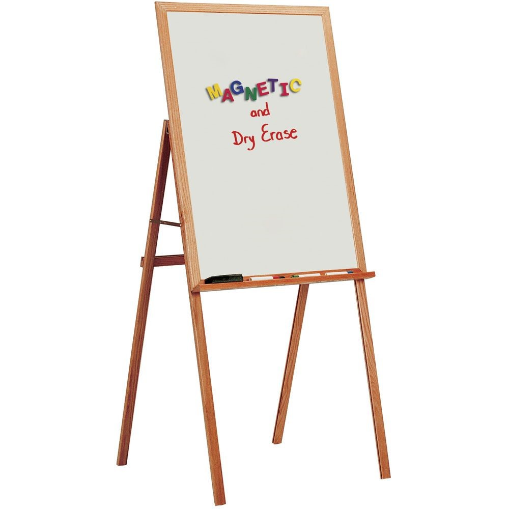 Wood Framed Presentation Easels With Flip Chart Pegs
