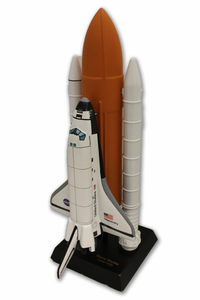 Space Shuttle Full Stack Model 1/100 Scale