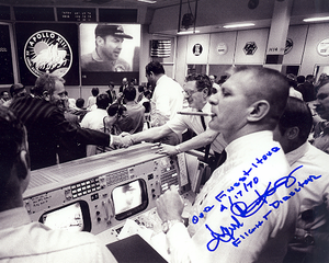 Apollo 13 Gene Kranz Autographed Photo