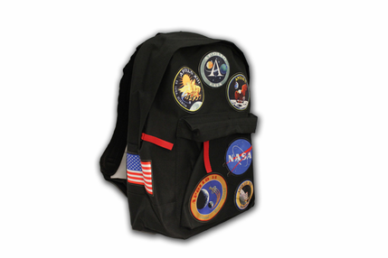 Apollo Patch Backpack Black