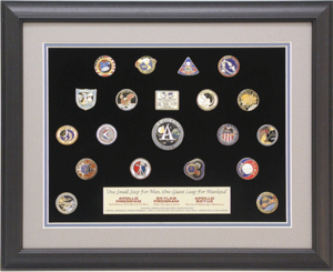 Apollo-Skylab-Soyuz Collectible Pin Set