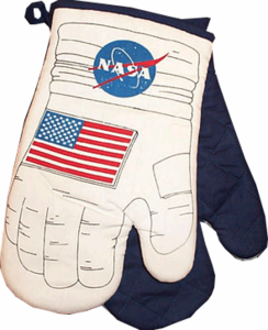 Astro Mitt Choice of White or Red