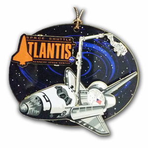 Atlantis Open Cargo Bay Ornament