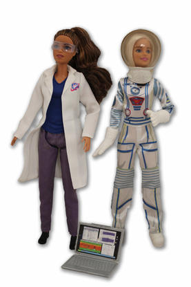 Barbie Astronaut and Space Scientist Play Set