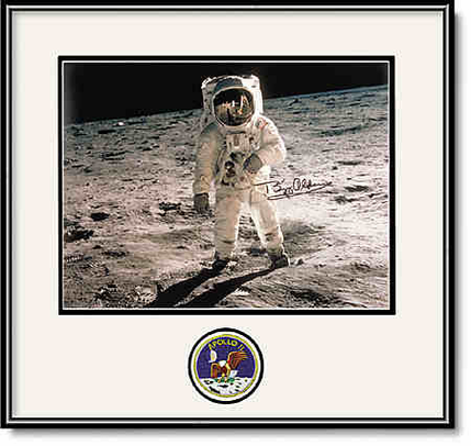 Buzz Aldrin Apollo 11 Autographed Portrait