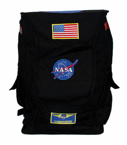 NASA Astronaut Flight Gear Backpack Black