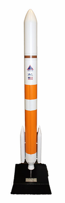 Delta IV Medium Rocket 1/100 Scale Model