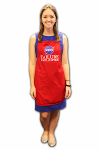 Failure Is Not An Option - Apron - Red