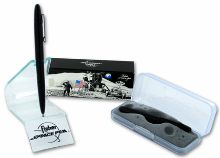 Fisher KSC Clip Bullet Pen - Black