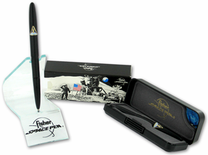 Fisher Space Bullet Pen with Shuttle- black