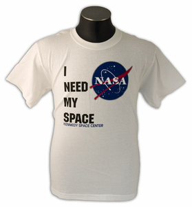 Kids T-Shirt I Need My Space White