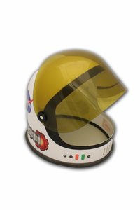 Kids Explorer Helmet White or Orange