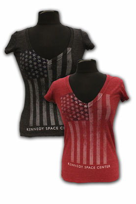 Junior T-Shirt American KSC Choice of Red or Gray