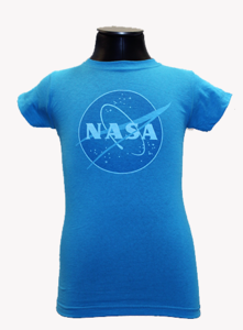 Girls NASA Meatball T-shirt turquoise