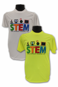 Kids S.T.E.M. Performance T-Shirt - Yellow or White