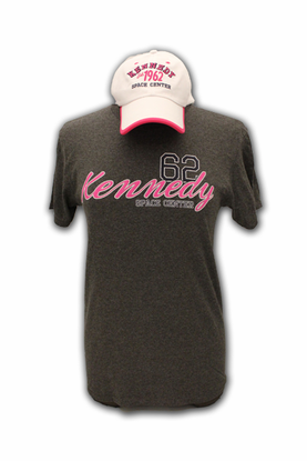 Ladies Hat and Tee Combo KSC Established Gray