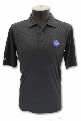 Mens Polo Antigua Inspire Meatball Smoke