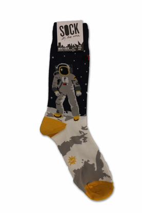 Mens Socks One Giant Leap
