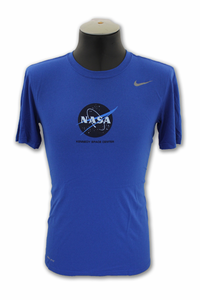 Mens T-Shirt - NIKE Dri-Fit Kennedy Space Center - Royal