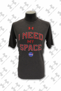 Mens T-Shirt Under Armour I Need My Space Charcoal