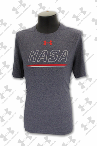 Mens T-Shirt Under Armour NASA Open Letters