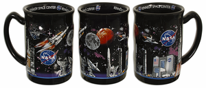 NASA 3D Raised Space Mug